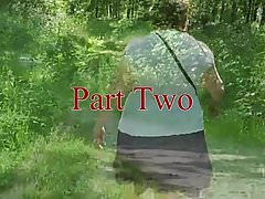 Upskirt bum in the woods Part Two.mp4