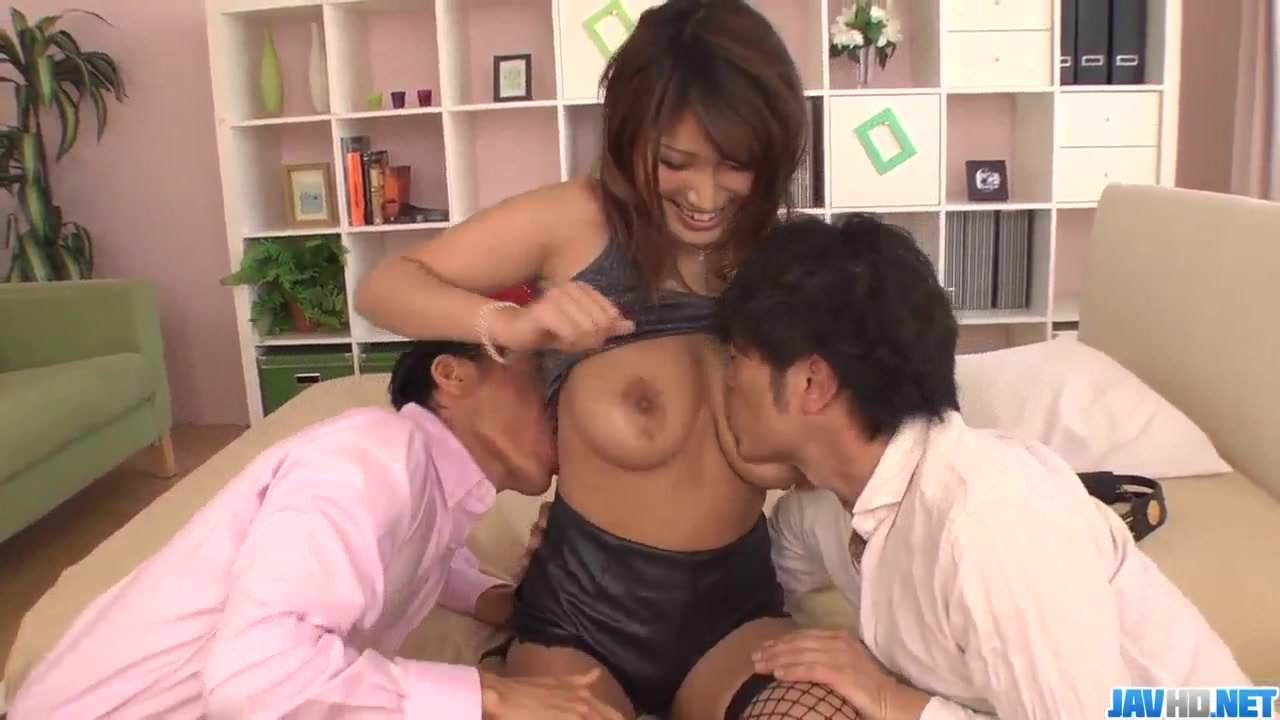 Yume Mizuki loves the dicks in her pussy and ass – Extra at 6