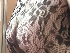 Big juicy ass in bodystocking fat ass gay ass booty shake