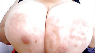Massive Melons Tit Fucking Dildo