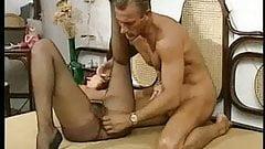 Mister Clark fucking hairy pussy