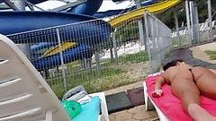 Spy pool sexy ass bikini teens girl romanian