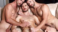 The 3 way kiss - Dean Monroe, Joe Parker, CJ Parker