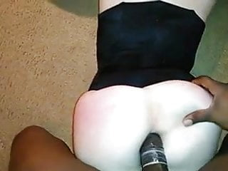 Cute little blondie gets BBC up her ass anal!