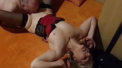 My friend licks my wife's pussy,then inseminates it