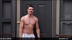 Jay Ryan shirtless and sexy boxers scenes