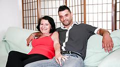 LETSDOEIT - Mature Italian BBW Gets Cumshot on Her Big Tits