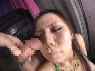 Big Tits Japanese Cutey Gets a Messy Facial