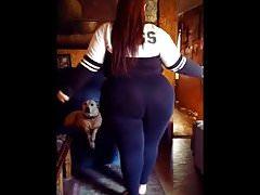 Fat slutty hoe shaking her fat ass
