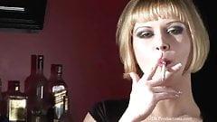 Aaralyn Barra - Smoking Fetish at Dragginladies.com