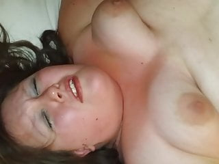 wife gets a cream pie from friend