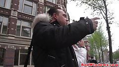 Bigtitted amsterdam hooker gets cumshowered's Thumb