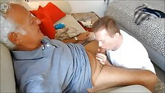 Erick blows hot grandpa