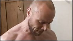 Daddy fucked his young boy in the bathroom
