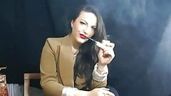 Pipe smoking by Alexxxya the s