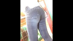 Hot booty jeans