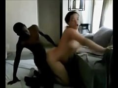 Amateur big butt wife interracial