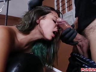 Gina Valentina gets bound and fucked