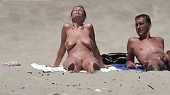 mature lady at cap d agde nude beach
