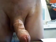Very nice daddydick nicely wanked and cumming on cam