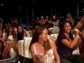 Hot Ladies Sucking Cock In The Nightclub