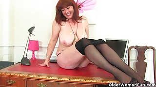 English mums in tights part 6