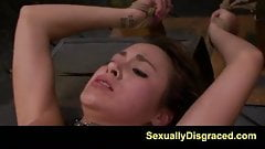 FetishNetwork Marina Angel bdsm facial and squirting