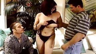 Brunette Swinger Fucks In Front Of Hubby
