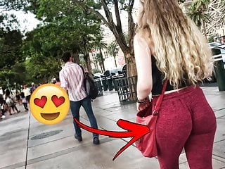 Her Daughter Has Ass Eater Pants On
