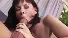 Hot milf hard sex on couch