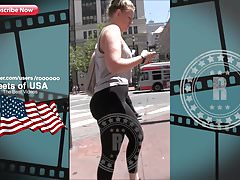 super leggings walk street