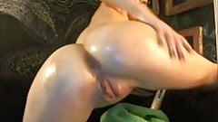 Big Tits Wet Oil Hitachi Orgasm