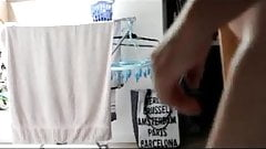 Transvestite gay batte battle anal fisting dildo man 1047