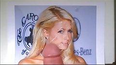 Cum tribute to Paris Hilton