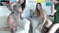 HardX Abella Danger Squirts Repeatedly from That Good D!