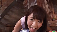 Wakaba Onoue amazing display of amazing POV oral sex