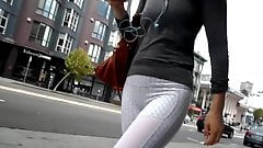 BootyCruise: Fish-Scale Pants Cam