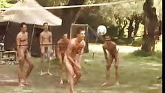 naked boys Nude volleyball