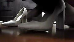 Fuck and Cum inside Sister Parisian High Heels