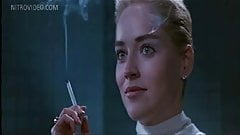 That interfere, Sharon stone shows her cunt opinion