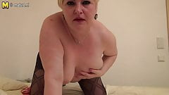 Chubby mature mother from Berlin