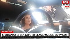 FCK News - Tattooed Teen Makes Sex Tape With Cop