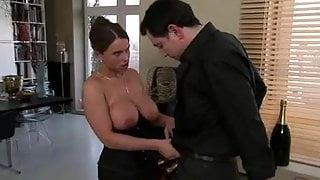 German Lady Huge Boobs With Lover