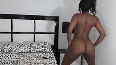 Curvy Ebony Girl With A Great Ass
