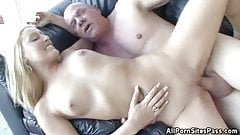 Fucked And Creampied Blonde
