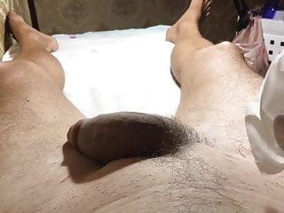 Brazilian Waxing Of A Big Dick Part  Start