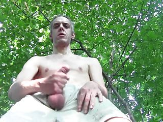 CUMSHOTS NAKED OUTDOOR IN PUBLIC, EURO HOMEMADE AMATEUR SOLO