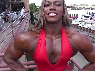 Black muscle goddess 3