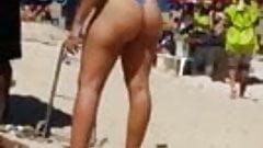 hot brazilian ass at beach 44  2015