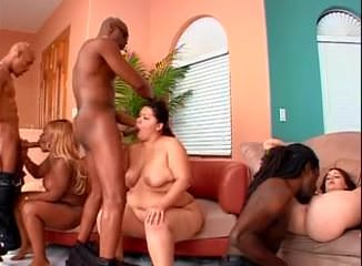 Big phat wet ass orgy 1